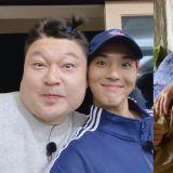 《新西遊記》製作組上傳姜鎬童、宋旻浩合照!臉的大小吸引大家視線,網友:是這種程度嗎XD