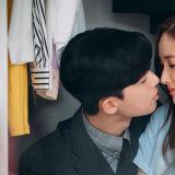 《金秘书为何那样》最新剧照,朴叙俊X朴敏英吻过一次后就一发不可收拾啦!