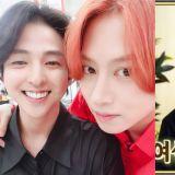 【有片】再次見到金起範與SJ成員合體…竟是在戀愛節目上!金希澈SNS分享合照:「真的好久不見啦」