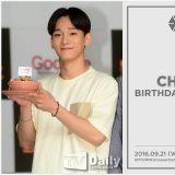 EXO CHEN辦生日會與粉絲共慶生日