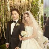 太阳♥闵孝琳婚礼!《阳光姐妹淘》演员们齐聚,梁铉锡没戴帽子引发关注!