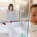 妈妈真的辛苦了!崔敏焕♥律喜双胞胎女儿照片公开,和赞儿一样都好可爱呀!