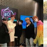 全能偶像Seventeen带著新专《semicolon》昨出演《郑恩地歌谣广场》