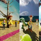 當《玩具總動員》角色成為《魷魚遊戲》的參賽者&古代發生的話,網上大玩創意「123木頭人」無極限!
