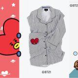 BT21又有新品,這次是睡衣和睡裙啊!阿米們不要猶豫了,買起來就對啦XD!
