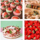 【全罗南道】新鲜草莓马卡龙还有满满的草莓蛋糕就在这里