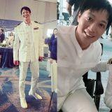 李鍾碩IG曬出與金來沅的合照,海軍服+大長腿實在太帥了!瞬間忘了這部《分貝》是恐怖襲擊電影