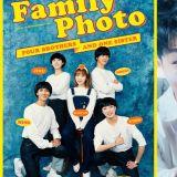 乐童李秀贤上传与WINNER的预告照:「与新哥哥们的家族照片」亲哥李灿赫回覆...却被她回:「你是谁呀」