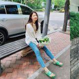100萬韓幣的鞋子穿在腳上是什麼感覺,李是英「吐槽」:血液不循環XD