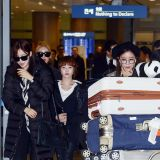 T-ara回國現身機場 粉絲迎接人氣足