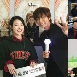 IU演唱会超多艺人都到场支持!李准基、姜汉娜、《我的大叔》剧组、恩地等人都来啦!