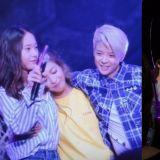 f(x)Luna舉行個人演唱會!Krystal、Amber驚喜現身,三人還一起合唱了《All Mine》!
