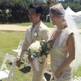 歌手嘉熙27日大婚 公开夏威夷婚礼现场侧拍照