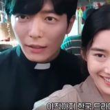 OCN《客:The Guest》公開金東昱、金材昱、鄭恩彩超可愛的自拍問候影片!