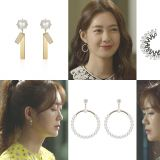 《付岩洞复仇者们》李枖原高贵典雅的耳饰是什麽品牌的?来看她美貌新境界!
