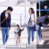 昇材要出國玩啦!高志溶、許洋林攜兒子前往泰國 機場照溫馨美好
