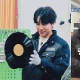 李昇基親手製作自己的限量黑膠唱片,第一張送給姜鎬童!羅PD失望了XD