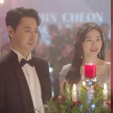 【有片】《同床異夢》下周預告:JunJin夫婦客串《The Penthouse 2》片場,與金素妍相遇!