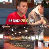 让朴轸永很自豪的「JYP食堂」一年餐费大约是20亿韩元,连练习生也可以到这里吃饭!