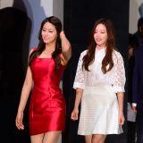 AOA雪賢、尹素熙出席活動同台拼美