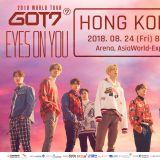 GOT7 2018 香港演唱會 觀眾有機會得到SOUNDCHECK PASS