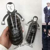 因「長羽絨外套」引發熱潮!韓國麵包店也趁勢推出這款麵包,外型也引發關注!