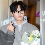 《请融化我吧》终映宴众演员出席,池昌旭戴黑框眼镜造型减龄超帅气!