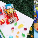 還記得韓國7-11推出的樂高軟糖嗎?最近推出了4D款,竟然還可以拼起來!