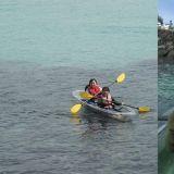 去濟州島度假吧!在海上漂流的透明橡皮艇體驗~