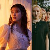 IU、Red Velvet 和 MAMAMOO 的三首好歌 今日同获 Gaon 串流榜上白金认证!