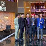 SHINee珉豪探班Super Junior!一个人独占9名哥哥的怀抱,果然是被SJ养大的孩子!