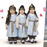 大韓民國萬歲三兄弟最新照 褪去了嬰兒肥的小小少年們
