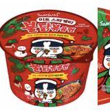 三养辣火鸡面系列推圣诞限定版!肉酱辣火鸡面据说连怕辣的人都能轻松尝试