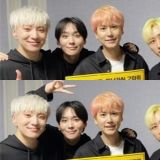 SJ银赫、圭贤一起去看WINNER演唱会!手持横幅并化用《Really Really》歌词留言:「我喜欢你」