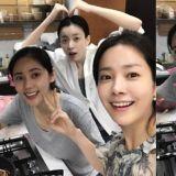 果然美女的朋友也是美女!韓志旼、韓孝周、秋瓷炫合照吸引大家的注意!