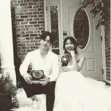 《愛你的時間》河智苑李真旭  真實情侶一般的甜蜜婚紗公開
