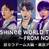 五支麥克風架、衣襟上的嫣紅玫瑰⋯⋯四人 SHINee 堅強振作 日本演唱會感人落幕