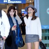 T-ara回國 機場問候粉絲超可愛