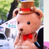 NU'EST JR变身背著龟壳的小熊!一路散发可爱魅力,认证粉丝的生日广告应援