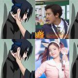 当韩流爱豆遇上《火影忍者》佐助Sasuke?网友太有才了!