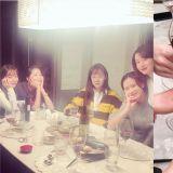 漂亮姐姐们又聚餐啦!孔晓振、孙艺珍、李贞贤、吴允儿、李珉廷的新年聚会