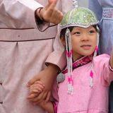 這樣的組合很新穎!秋小愛一家前往蒙古 這對兄妹當起了導遊