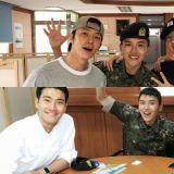 剩下不到一個月就要退伍了!Super Junior銀赫、東海、銀赫與厲旭會面