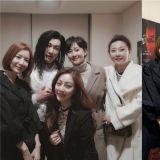 「天空女團」廉晶雅、尹世雅、吳娜拉出動!一起為曹承佑主演音樂劇應援