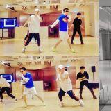 Super Junior東海、銀赫在練舞啦!明日(23日)舉行粉絲見面會