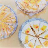 滿滿的水蜜桃!清洲甜點店《Sweet Pea Cafe》水蜜桃雪冰、蛋糕超美味