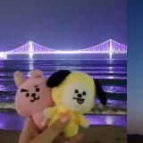 釜山被染成「紫色」之都,BTS防彈少年團FM仿佛成為釜山的慶典!