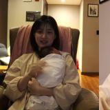 律喜曝怀双胞胎体重胖到83公斤!抱著女儿时也表示:「希望能做到不让她们感到累,我是妈妈,我可以的...」