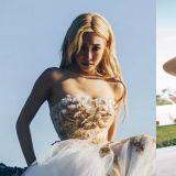 Tiffany新歌《Born Again》MV的唯美婚紗,出自台灣設計師之手!
