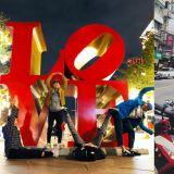 「長腿歐爸」李相侖、李己雨到台北旅行!大家看到這些照片的場景,有沒有覺得很熟悉呢?